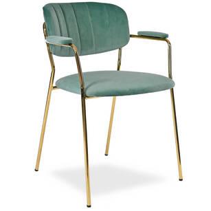 Tapicerowane krzesło MARGO mały fotelik aksamit Białystok