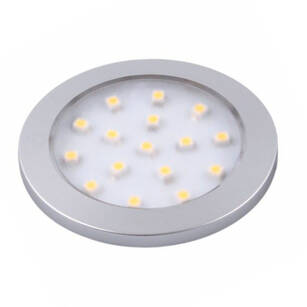Oprawa LED ORBIT aluminium barwa neutralna 1,5W
