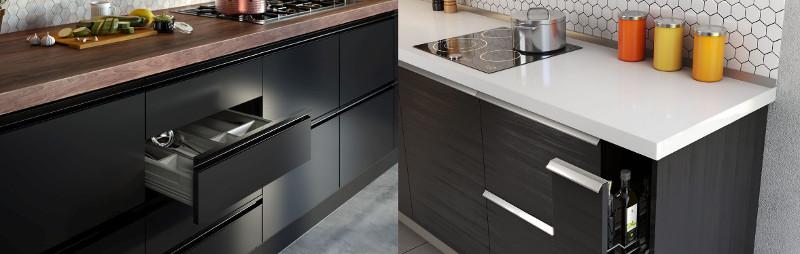 Bardzo dobry Jakie uchwyty wybrać do szafek kuchennych? PR88