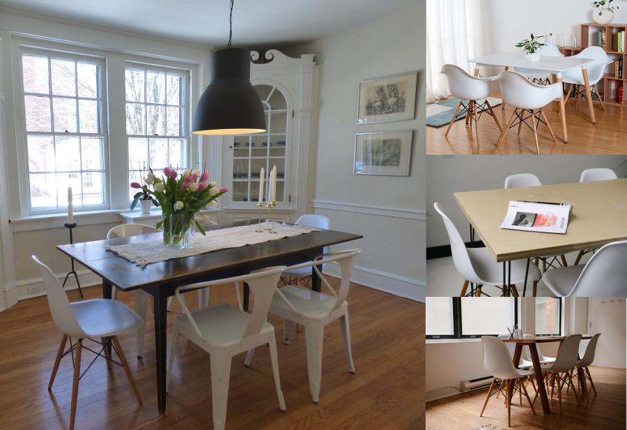 Białe Krzesła W Nowoczesnych I Tradycyjnych Wnętrzach