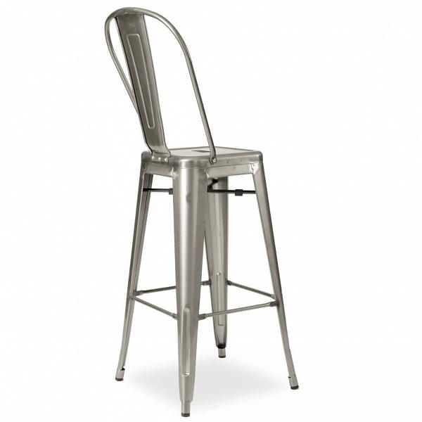 Metalowe industrialne krzesłą barowe